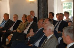 Das Publikum der Rede von Friedrich von Lenthe