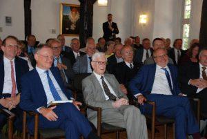 Ministerpräsident Stephan Weil, Landrat Bernhard Reuter und Adolf Freiherr von Wangenheim